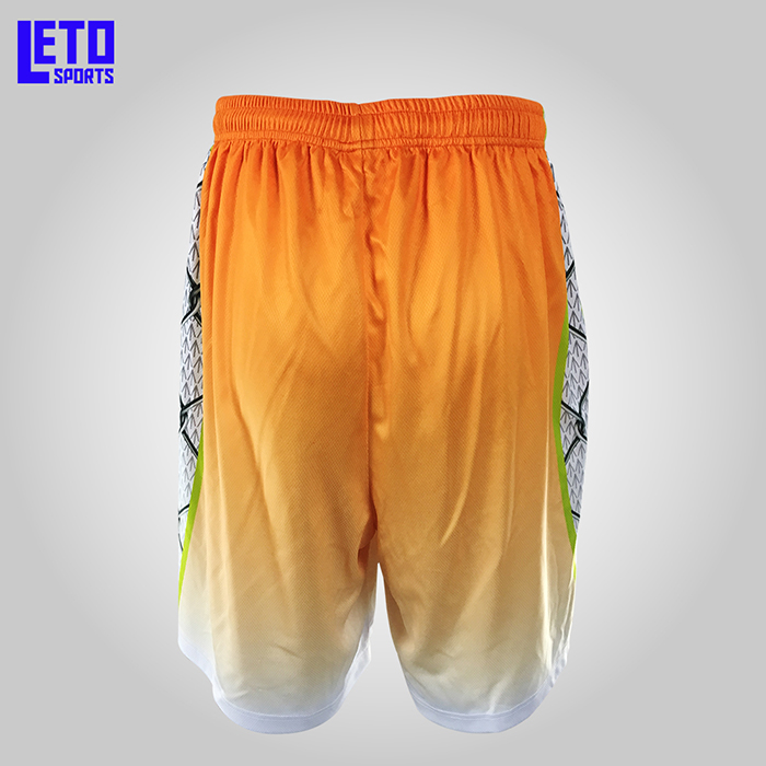 2018 fashion design high quality cool breathable dri fit basketball shorts