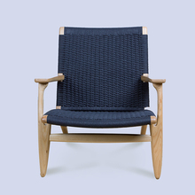 replica hans wegner solid wood ch25 easy chair