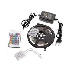 hot sales 5050 <strong>RGB</strong> led strip light 5M led stripe 24keys SMD IR Remote Controller