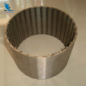 special type slot casing screen, water well filter pipe