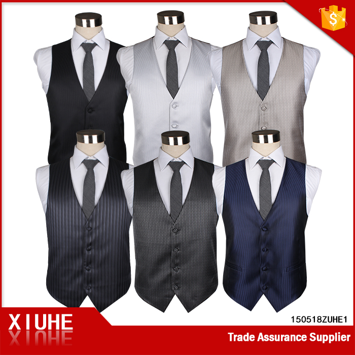 Fashion mens wedding dresses vests