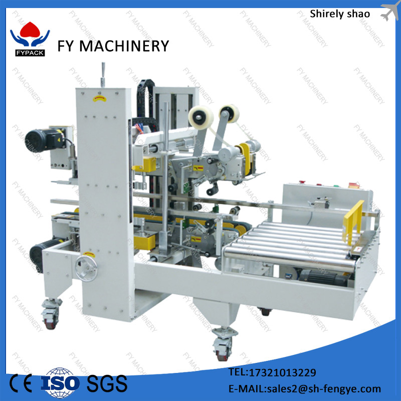 automatic plastic cup carton box sealing machine