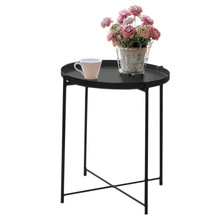 Europe nordic iron foldable living room coffee table with metal legs Ningbo <strong>furniture</strong> supplier