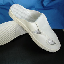 LAB0-SH-03 Antistatic Cheap White shoe 4 holes Butterfly ESD shoe