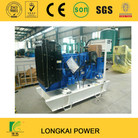 80KW / 100KVA FOTON LOVOL Engine 1006TG2A OPEN TYPE Diesel Genset