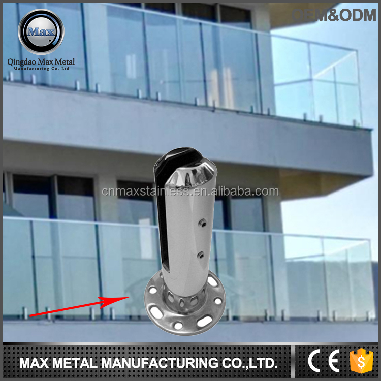Customized stainless steel hardware factory spigot round duplex 2205 spigot indoor wrought iron railings