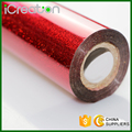 Laser Sandy Red Hot Stamping Foil Roll for Paper/Paper Bag/Carton/Wallpaper/Business Card/Cigarette Box 0.64M*120M Custom Made