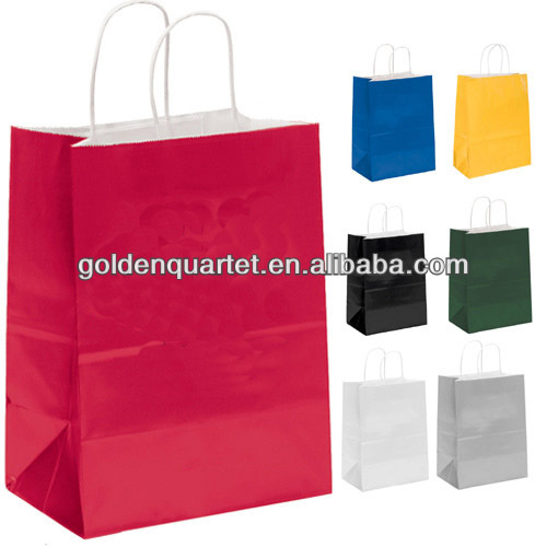 Customised paper shopping bag/Promotion paper bag/Paper tote bag(SA8000, BSCI, ICTI, WCA Accredited factory)