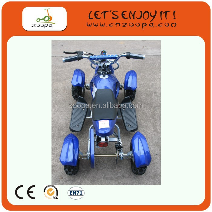 CE proved 4-wheel 800w cheap atv for sale, two behind trailer