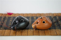 high quality and low price jing dezhen handmade porcelain toys made flute ocarina note toy jiangxi from china