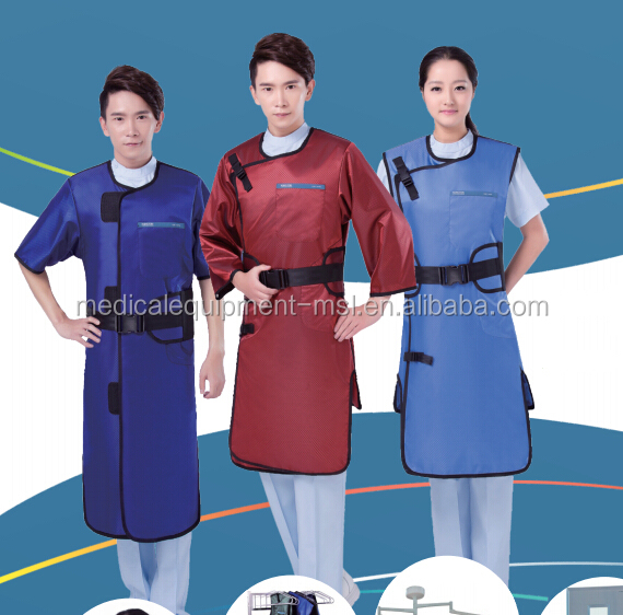 Cheap Price of Lead Free Apron / Medical Radiation Protective Clothing / X-Ray protection clothing (MSLLA01)