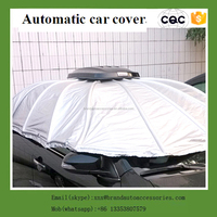 New design automatic car covers with UV protection easy roll car covers