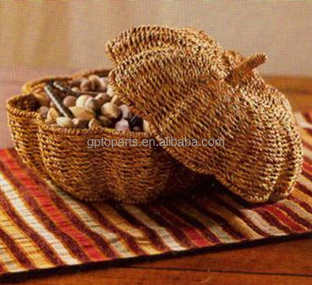 Stock Gifts Crafts Rattan Wicker Cane Basket Cheap