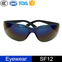 Eye Protection Scratch Resistant Lenses Safety Glasses For Welding