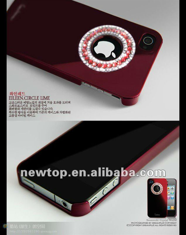 fancy diamond case for iphone 4/cell phone accesorries