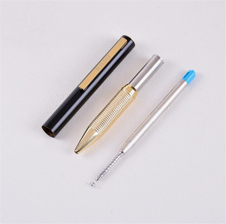 fashion Wholesale Metal Twist Ball Pen Slim With Custom Logo For Hotel