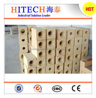 Spalling resistant high alumina bricks for cement kiln