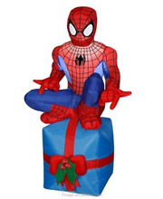 Inflatabe Spiderman Holiday Decoration,christmas inflatable