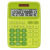 Super Quality New Popular 12 Digits Promotion Calculator Colorful Business Use Solar Power Electronic Calculator