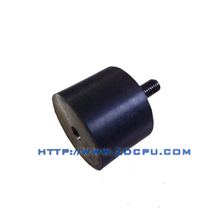 Anti-chemical cylindrical exhaust rubber vibration damper