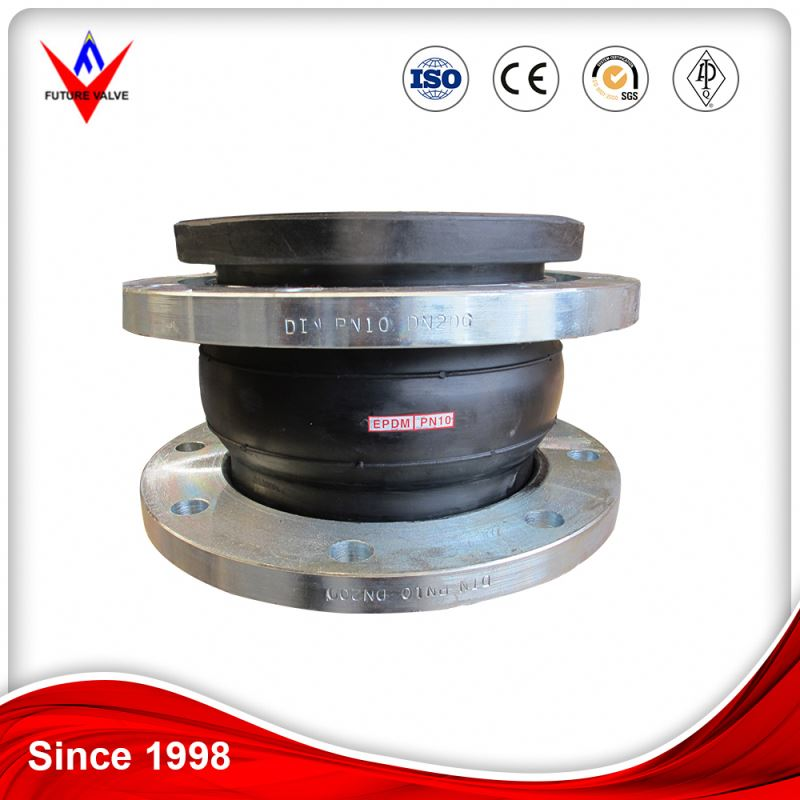 Coupling With Flange Tube Flexible Rubber Joint