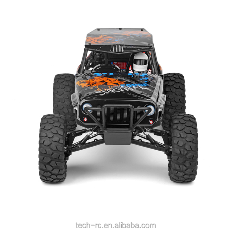 New WLTOYS 1/10 4WD Survival Bigfoot Off-Road RC Car Toys For Kids