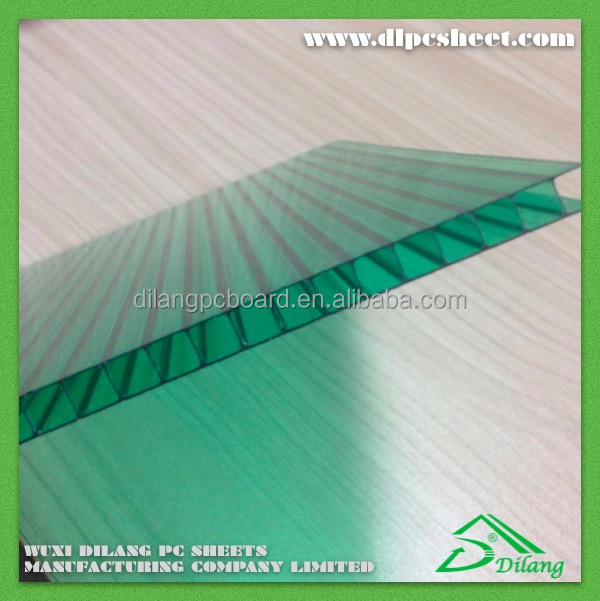 Polycarbonate roofing sheet sun sheet canopy with plastic building materials