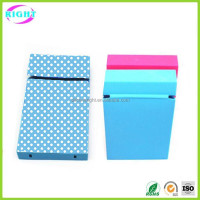Small silicone cigarette case for women