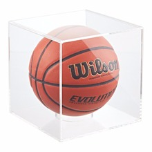 Custom acrylic basketball display cases wholesale