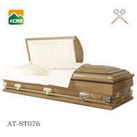 china factory good quality metal american casket cart