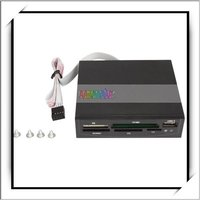 3.5 USB 2.0 SDHC MS XD SD Internal Card Reader Black