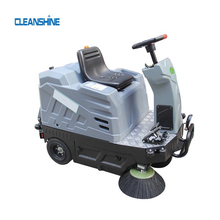 Powder floor sweeper pavement machine