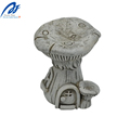 Cute Mushroom House Resin Crafts Garden Sculpture