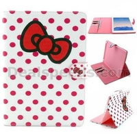 Wallet Style Magnetic Flip Stand TPU+ PU Leather Case for iPad Air 2