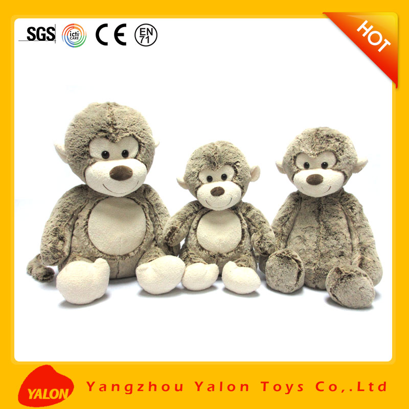 long arms and legs monkey plush toy