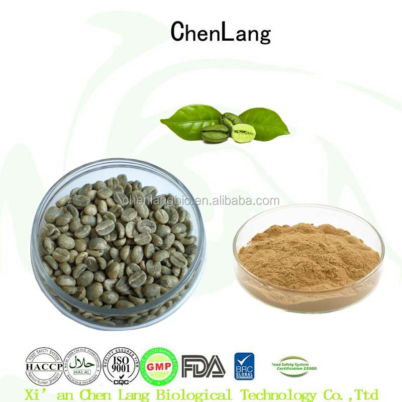 4:1~20:1 Green Coffee Bean Extract Powder with Best Quality