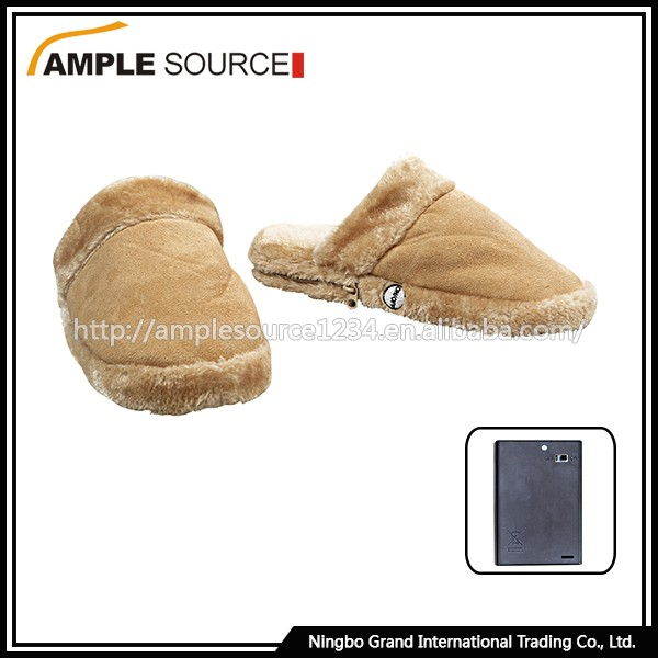 Cheap Custom Men Slippers, Heated Indoor Slippers