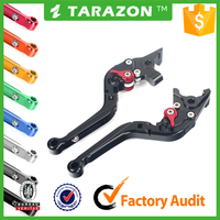 Hot Sale Light weight Aluminum motorcycle adjustable brake and clutch levers for 1198/S/R