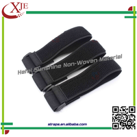 Adhesive Strong Black Elastic Luggage Strap
