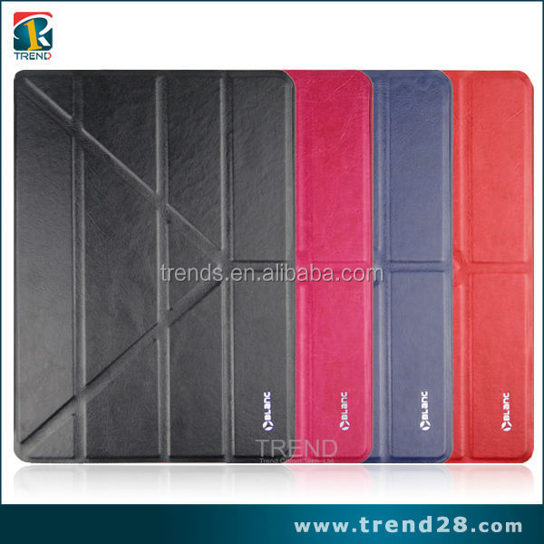 china alibaba transformers design kickstand PU leather case for ipad 5