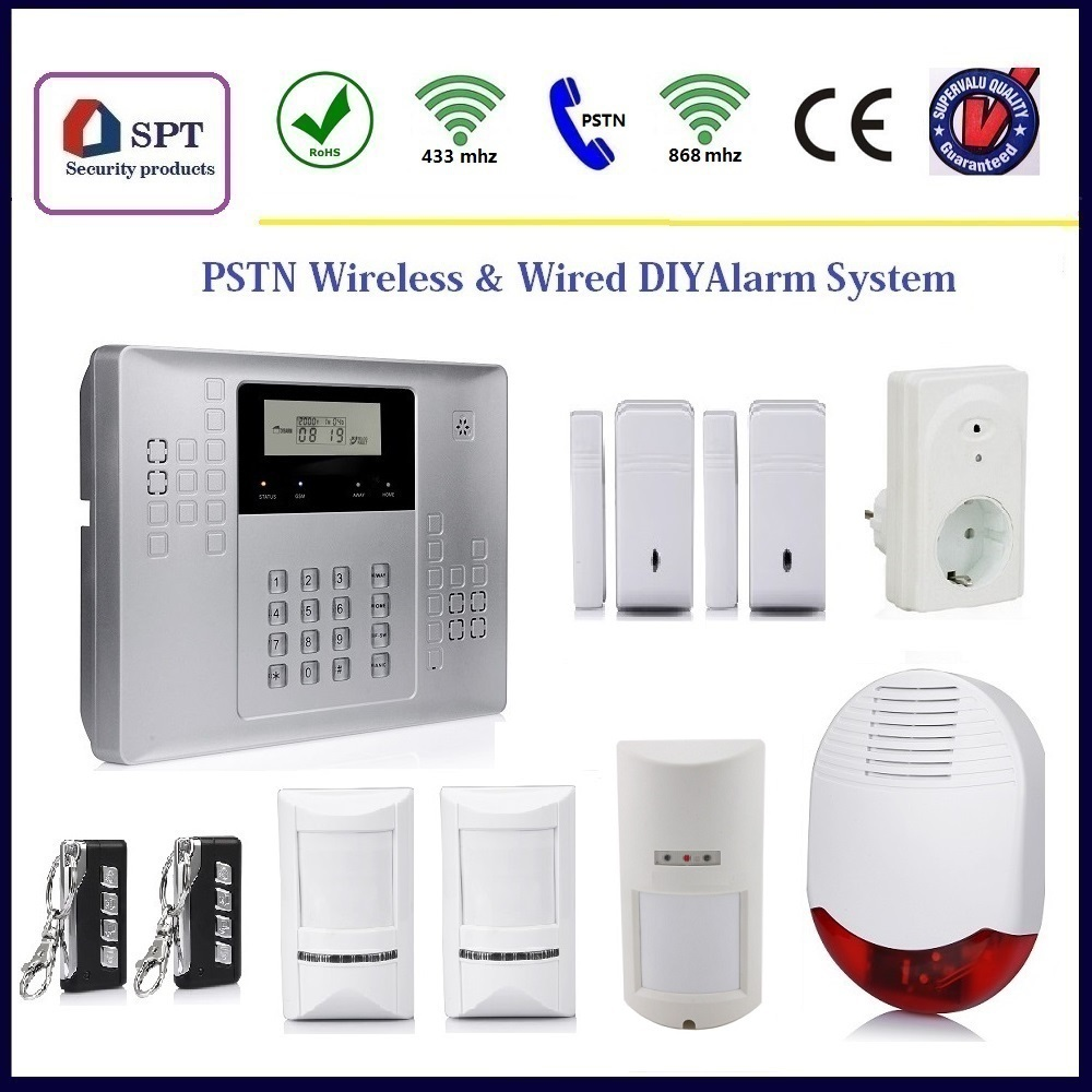 CP-21B home burglar security alarm, wireless pir indoor motion detector, active motion detector