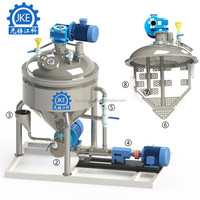VEM-500Liter Vacuum Mixing Machine for Low-Fat Dairy Products