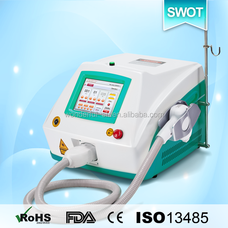 Professional 808nm diode laser hair removal tools with 12*12 spot size
