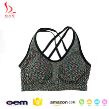 Hot Selling New design seamless beautiful sexy sports bra underwear for fat women made in China