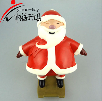 EN71 eco-friendly pvc material Santa Claus great Christmas gift