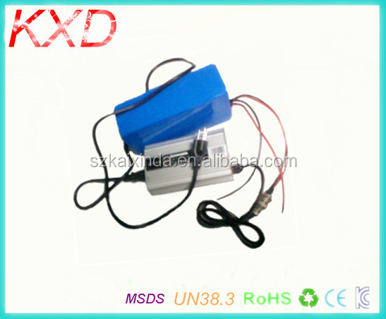 KXD electric bike li ion battery pack 24v 20ah