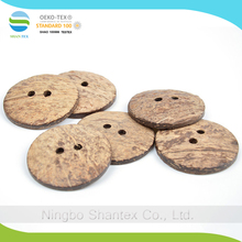 DIY Large natural environmental buttons 5.0CM two holes coconut buttons