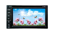 2 DIN 6.2 inch universal car dvd player with GPS