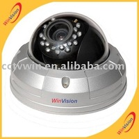 round security camera with 4-9mm varifocus lens