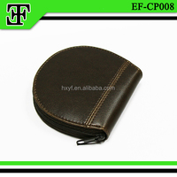 2015 new arrival vintage retro genuine leather coin purse custom coin case